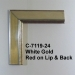 C-7119 White Gold Red Lip Back